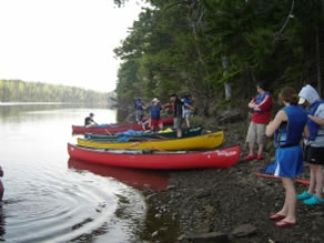 King's-Edgehill School's Canoeing Trip