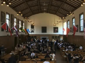 Ridley College's Cafeteria