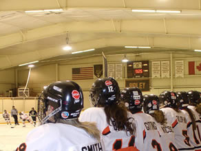 Ridley College's Hockey in St. Catharines
