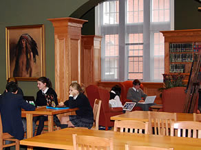 Ridley College's Library
